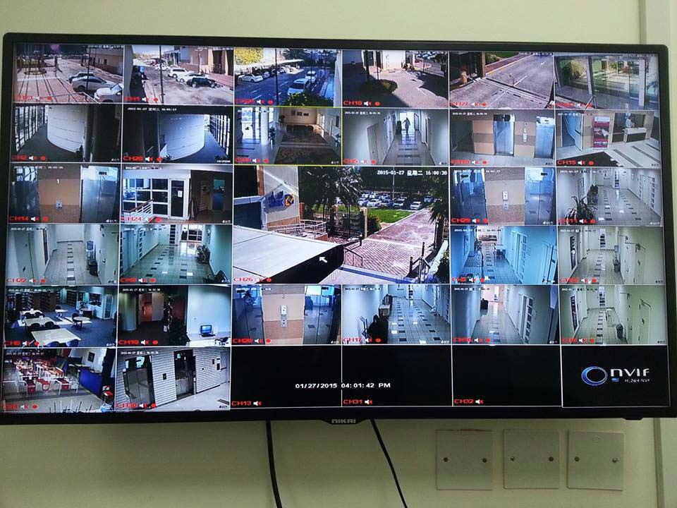 CCTV Installation (4CH – 24CH NVR/DVR)